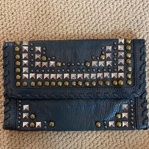 Forever 21 Studded Clutch
